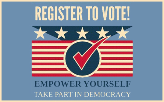 Voter Registration Get #ReadytoVot...